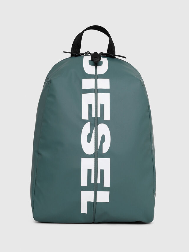 Diesel - F-BOLD BACK, Green/Grey - Backpacks - Image 1