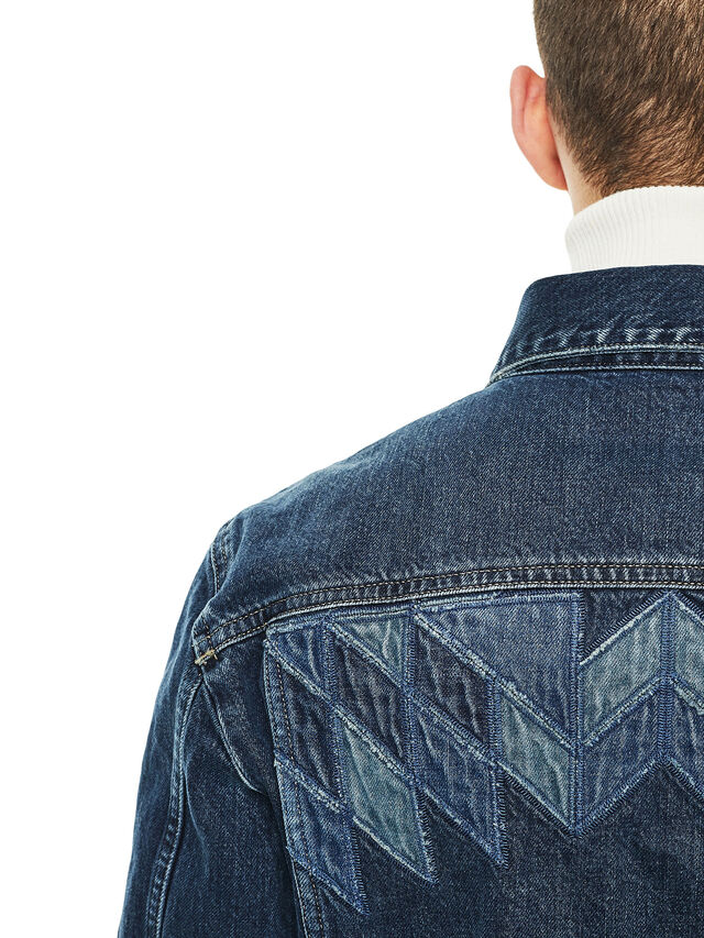 Diesel - JONDER, Blue Jeans - Jackets - Image 2