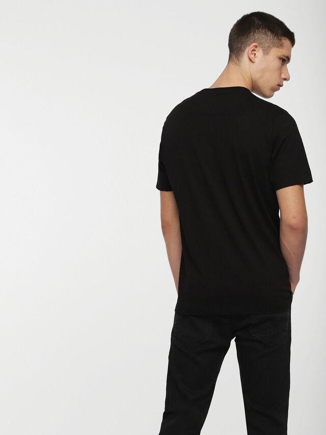 Diesel - DVL-TOBA-CAPSULE, Black - T-Shirts - Image 3
