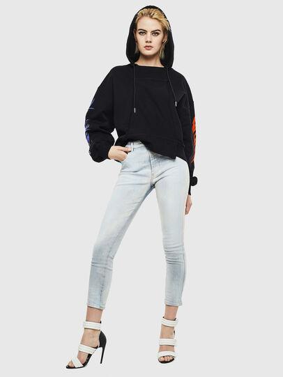 Diesel - F-KREEN, Black - Sweaters - Image 5