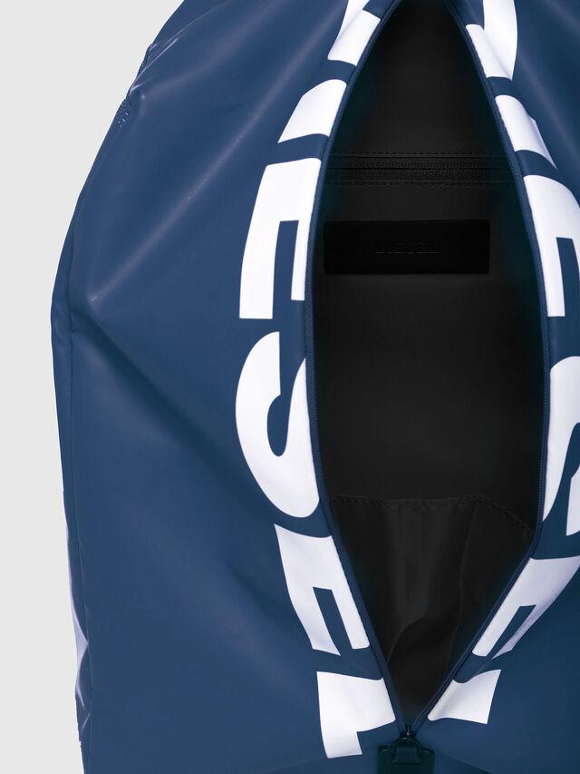 Diesel - F-BOLD BACK, Blue/White - Backpacks - Image 4