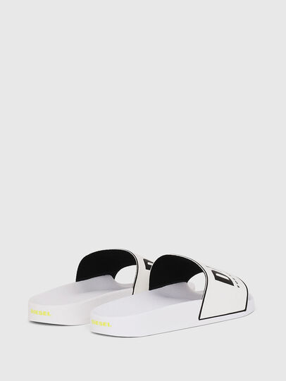 Diesel - SA-VALLA W, White/Black - Slippers - Image 3