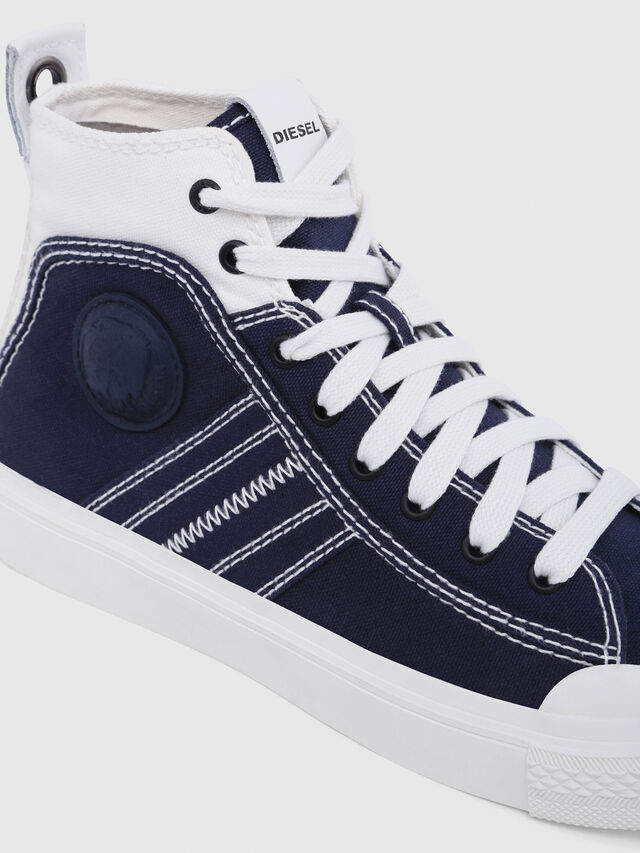 Diesel - S-ASTICO MID LACE W, Blue/White - Sneakers - Image 5