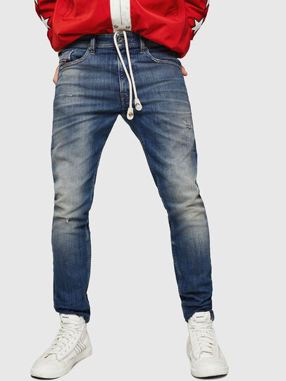Diesel - Thommer JoggJeans 0870M, Medium blue - Jeans - Image 1