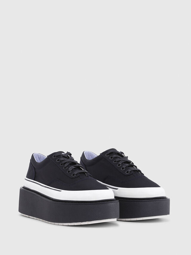 Diesel - H-SCIROCCO LOW, Black - Sneakers - Image 2