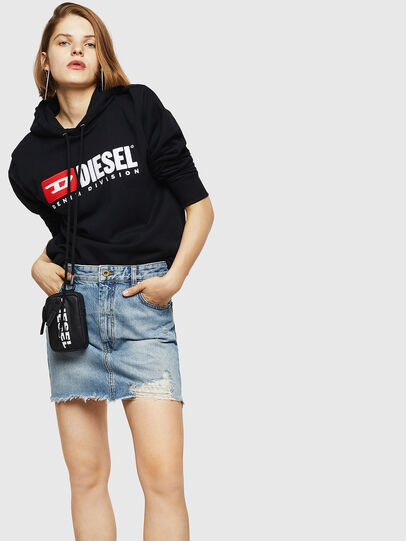 Diesel - DE-ELLE, Light Blue - Skirts - Image 6