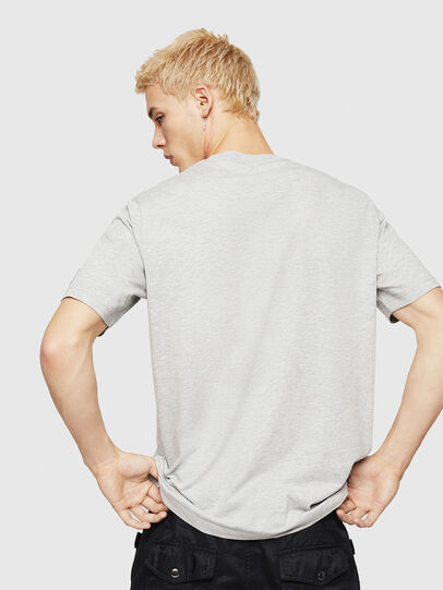 Diesel - T-JUST-DIVISION-D, Grey - T-Shirts - Image 2