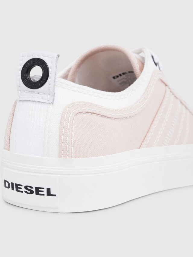 Diesel - S-ASTICO LOW LACE W, Pink/White - Sneakers - Image 4