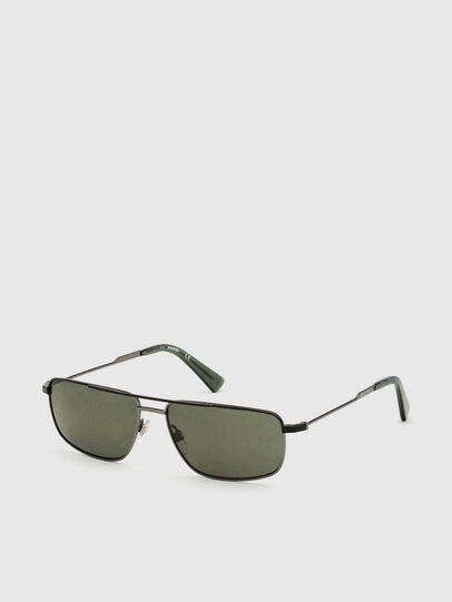 Diesel - DL0308, Black/Grey - Sunglasses - Image 2