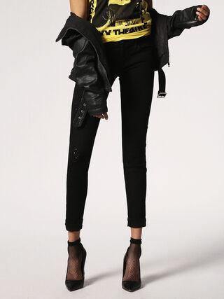 SKINZEE-LOW-S 084GX, Black Jeans