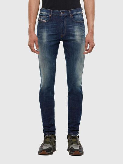 Diesel - D-Amny 009FB, Dark Blue - Jeans - Image 1