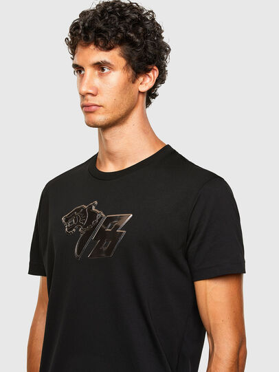 Diesel - T-DIEGOS-N29, Black - T-Shirts - Image 3