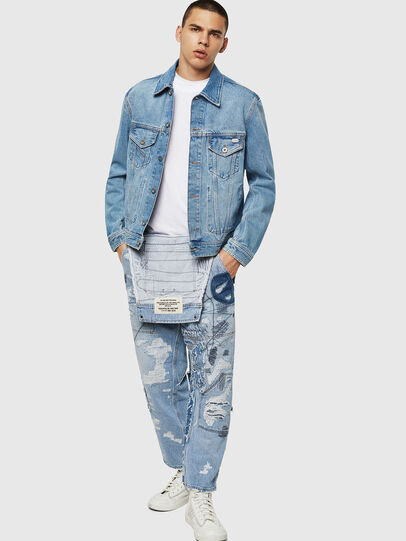 Diesel - D-BRAY, Light Blue - Denim Jackets - Image 6