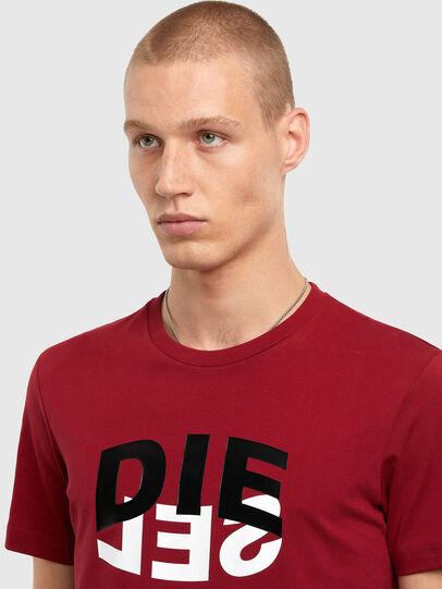 Diesel - T-DIEGOS-N22, Brown - T-Shirts - Image 3