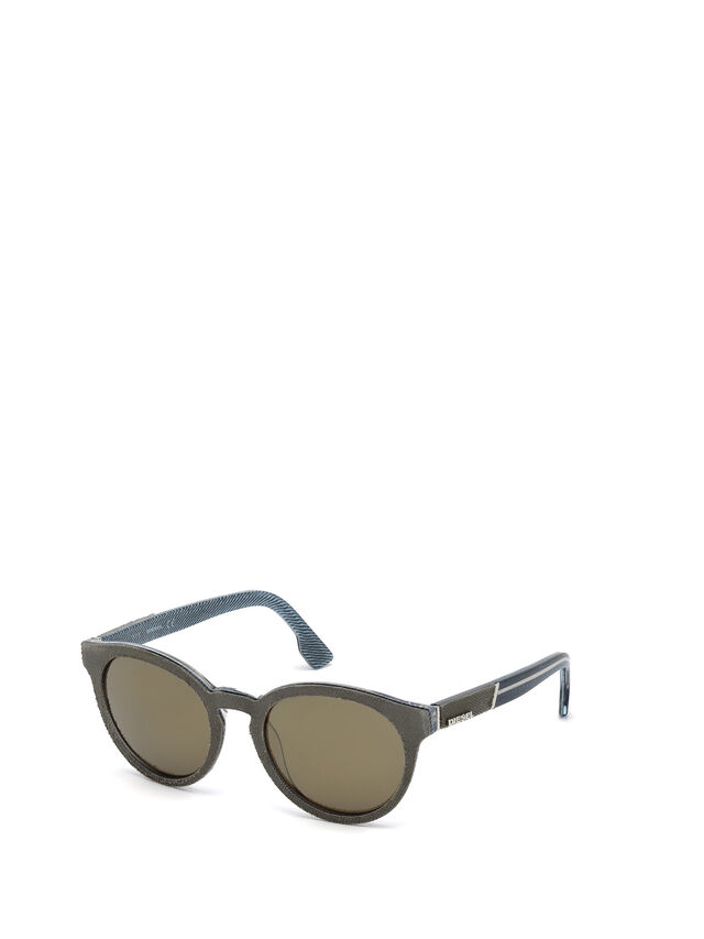 Diesel - DM0199, Green - Sunglasses - Image 4