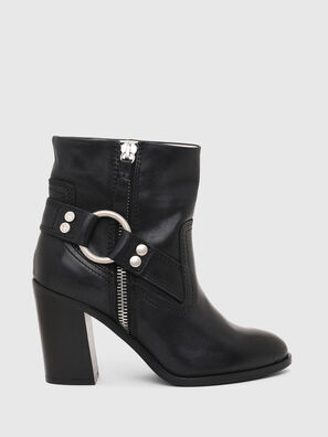 D-FLAMINGO ABZ, Black - Ankle Boots