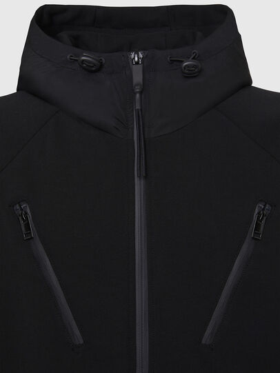 Diesel - S-RUNNER, Black - Sweaters - Image 3