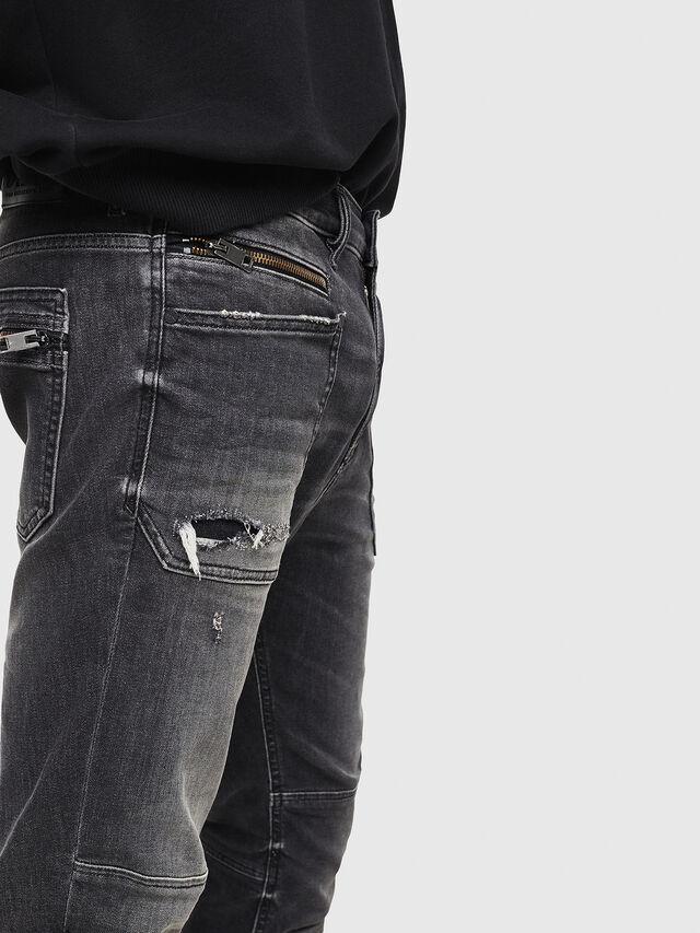 Diesel - D-Phormer 069DM, Black/Dark grey - Jeans - Image 3