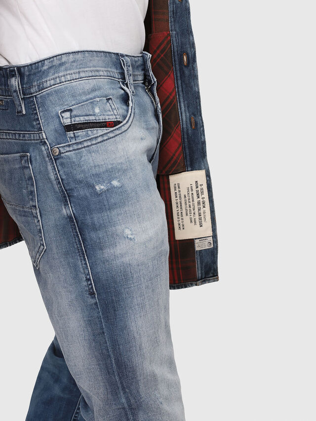 Diesel - Thommer 081AS, Light Blue - Jeans - Image 4