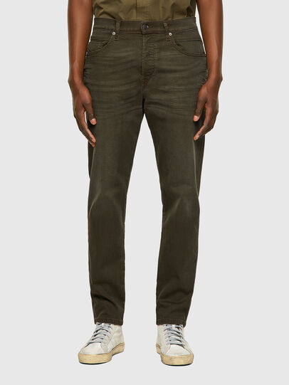Diesel - D-Fining-Chino 0699P, Military Green - Jeans - Image 1