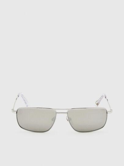Diesel - DL0308, White - Sunglasses - Image 1