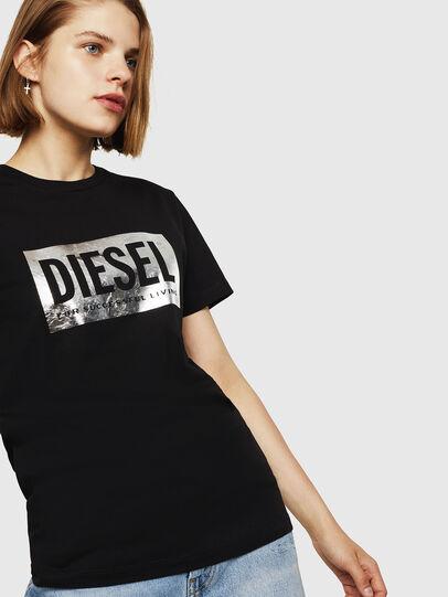 Diesel - T-FOIL, Black - T-Shirts - Image 4