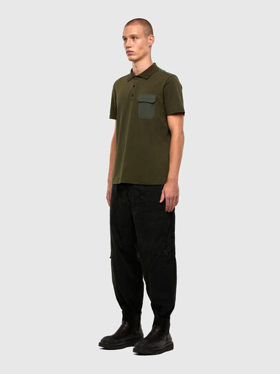 Diesel - T-HARLY, Military Green - Polos - Image 5