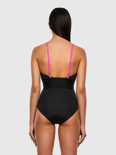 Diesel - UFBY-HOLLIX, Black/Pink - Bodysuits - Image 2