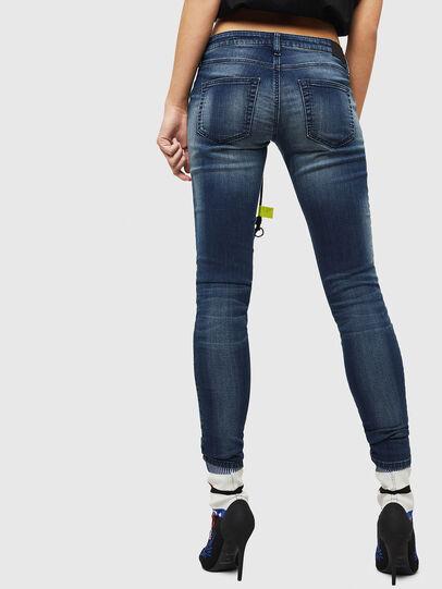Diesel - Gracey JoggJeans 069HF, Dark Blue - Jeans - Image 2
