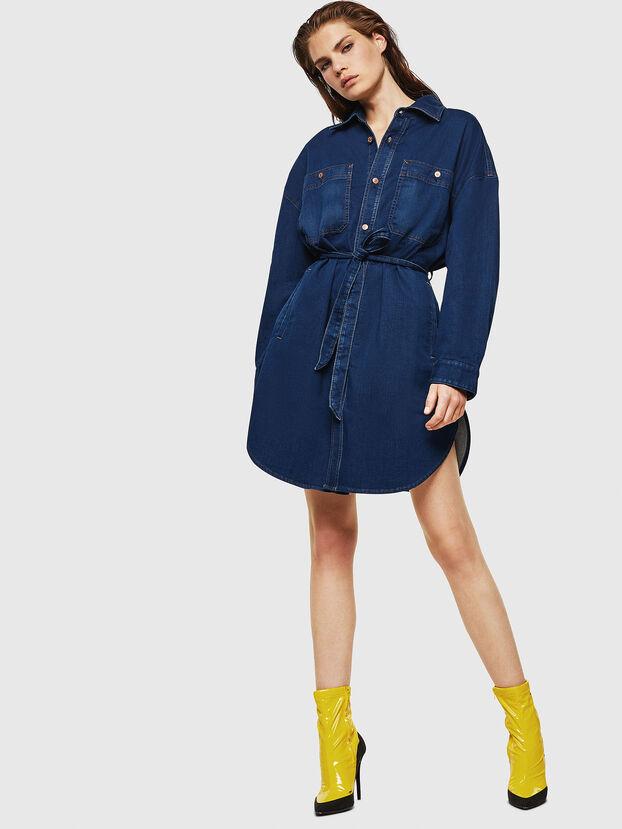 D-PINKIES JOGGJEANS, Medium blue - Dresses
