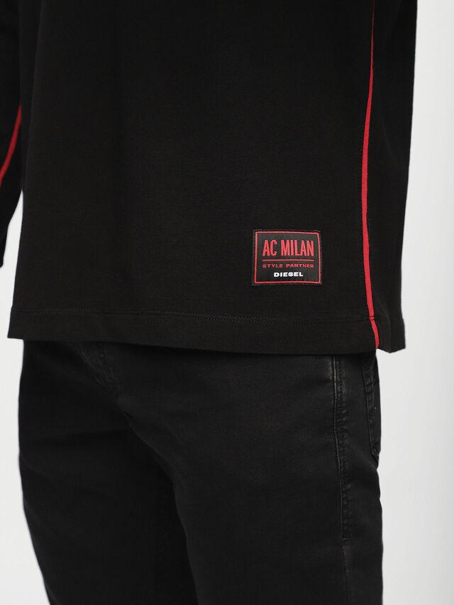 Diesel - DVL-TUNI-CAPSULE, Black - T-Shirts - Image 3
