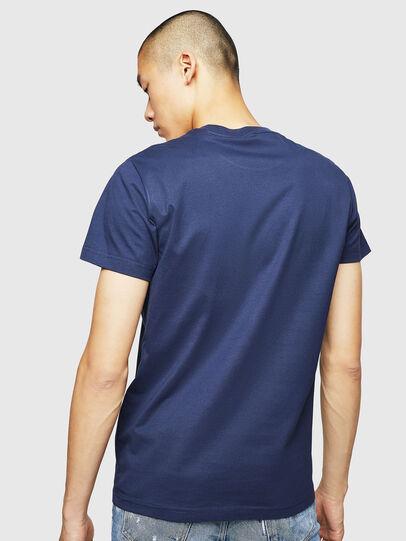 Diesel - T-DIEGO-B6, Blue - T-Shirts - Image 2