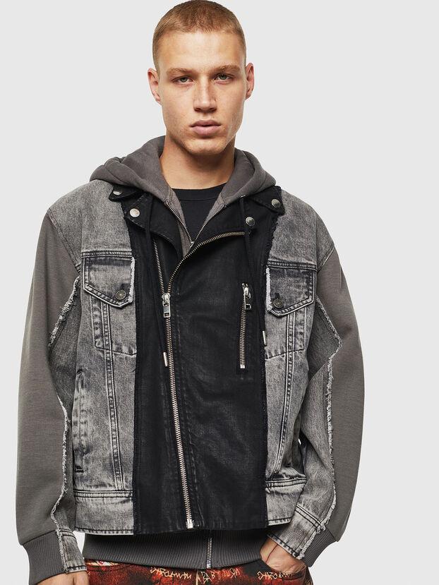 D-LOSTY, Black - Denim Jackets
