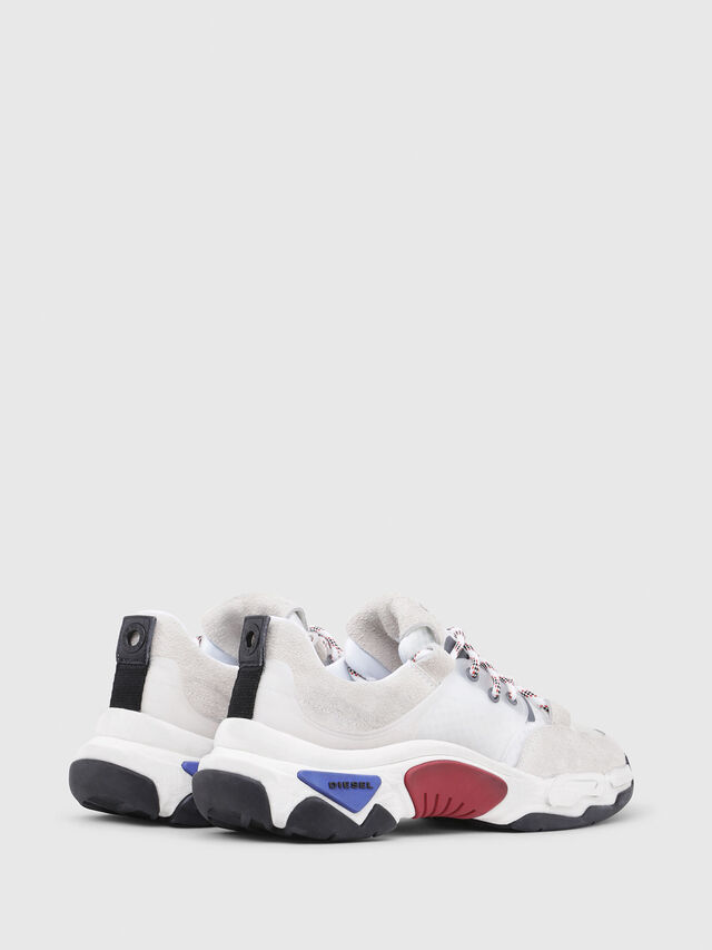 Diesel - S-KIPPER LOW LACE, White - Sneakers - Image 3