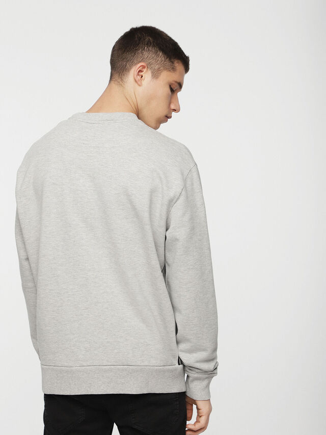 Diesel - DVL-SIFLA-CAPSULE, Light Grey - Sweaters - Image 2