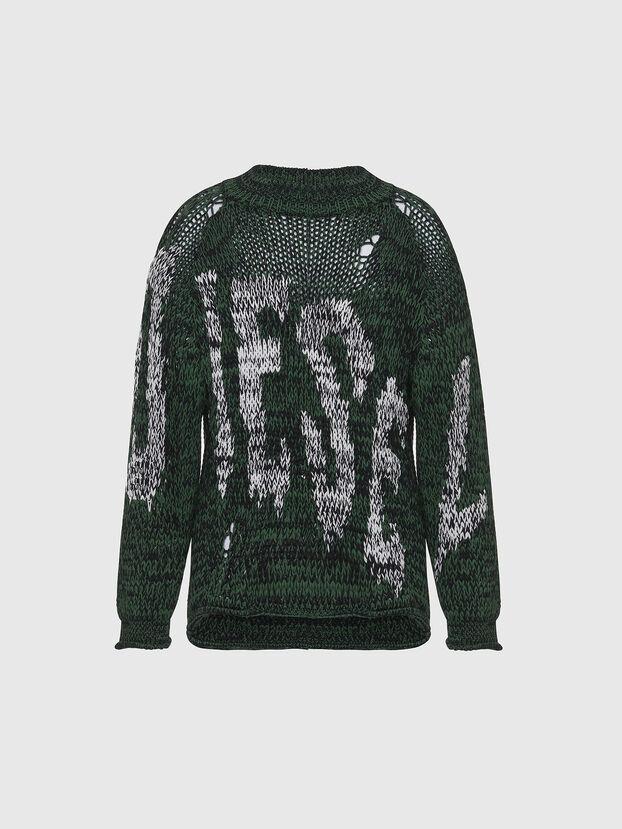 K-FLYNN, Green/Black - Knitwear