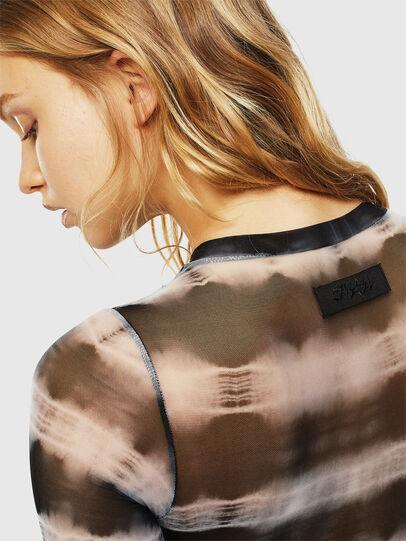 Diesel - UFBY-NOELAY-F, Black/White - Bodysuits - Image 5