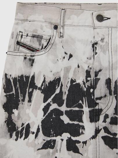 Diesel - DE-ELLYOT-SP, Black/White - Skirts - Image 3