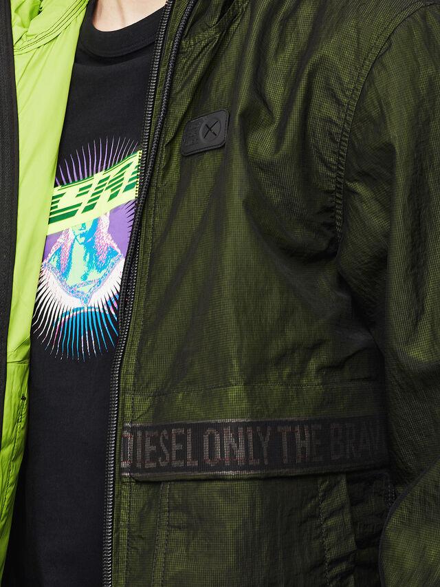 Diesel - J-HISAMI, Dark Green - Jackets - Image 3
