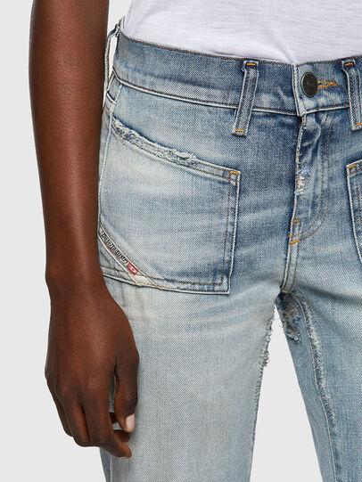 Diesel - D-Ebbey 09A04, Light Blue - Jeans - Image 4