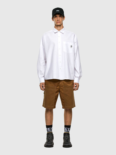 Diesel - S-LOOMY-A, White - Shirts - Image 4
