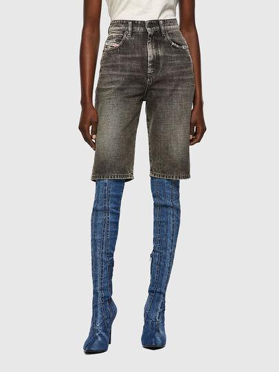 Diesel - DE-LILY-SP1, Black - Shorts - Image 1