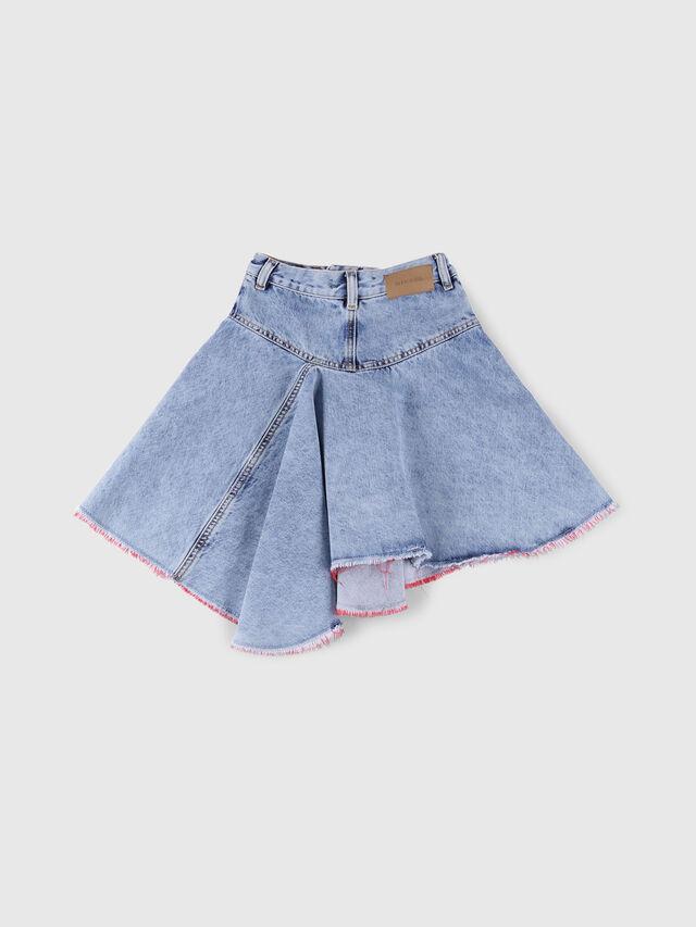 Diesel - GRINSKIRT, Blue Jeans - Skirts - Image 2