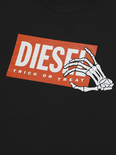 Diesel - TSKELE-TSE, Black - T-shirts and Tops - Image 3