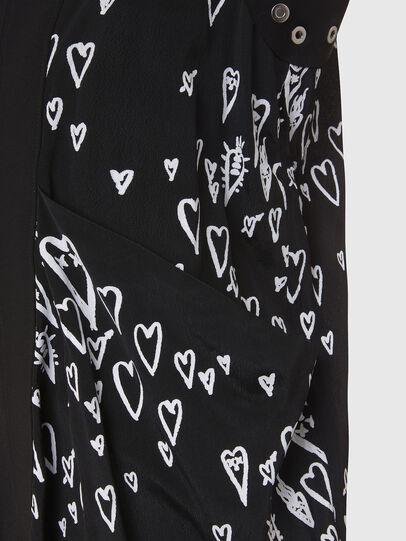 Diesel - D-EVEN, Black - Dresses - Image 4
