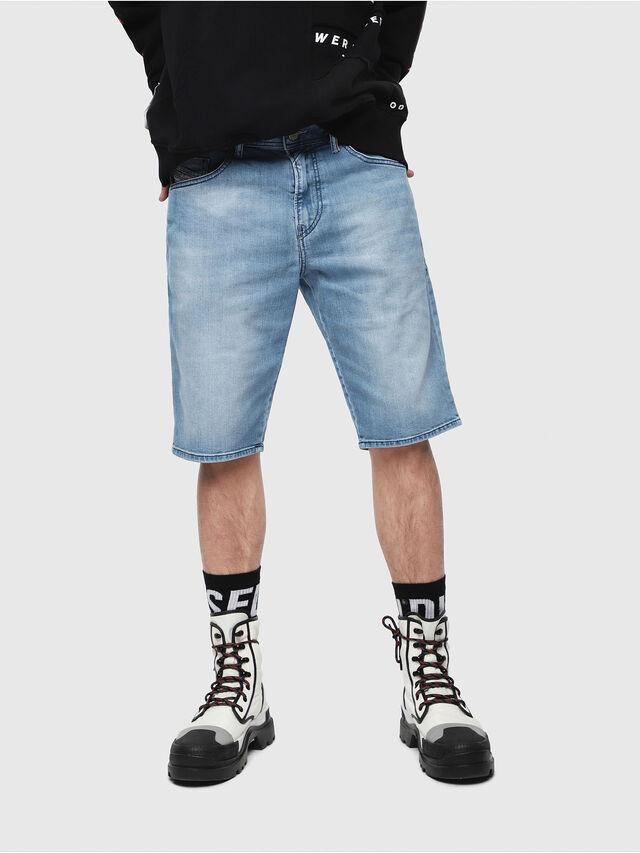 Diesel - THOSHORT, Light Blue - Shorts - Image 1