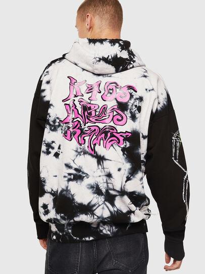 Diesel - S-ALBY-Y, Black/White - Sweaters - Image 3