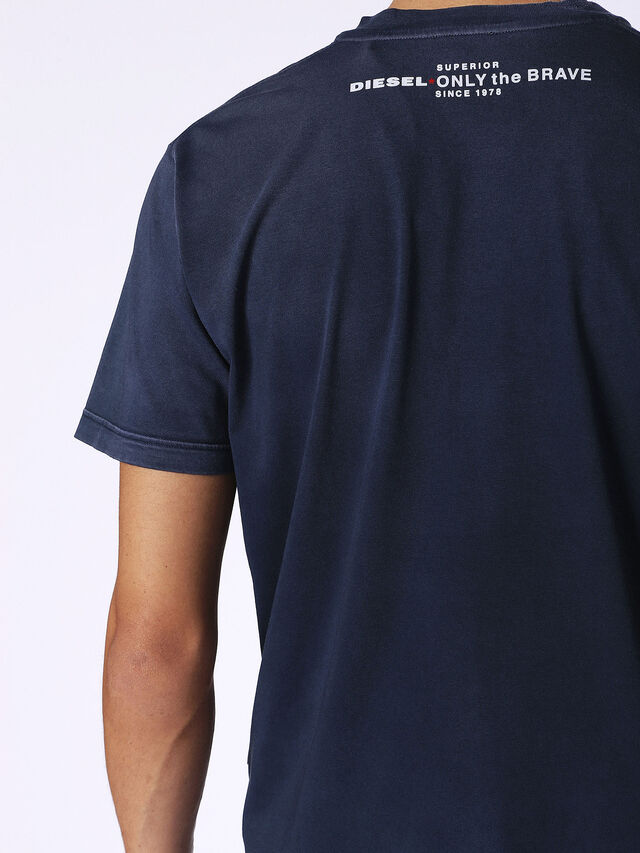 Diesel - T-KEITHS, Blue - T-Shirts - Image 2