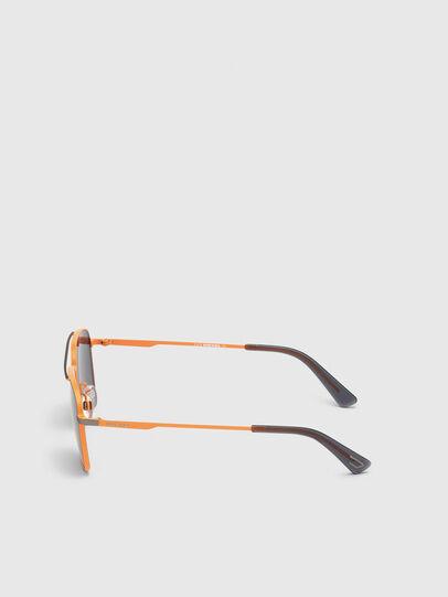 Diesel - DL0295, Orange/Black - Sunglasses - Image 3