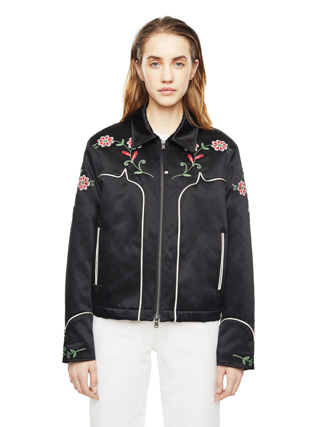 Diesel - WADOW, Black - Jackets - Image 1
